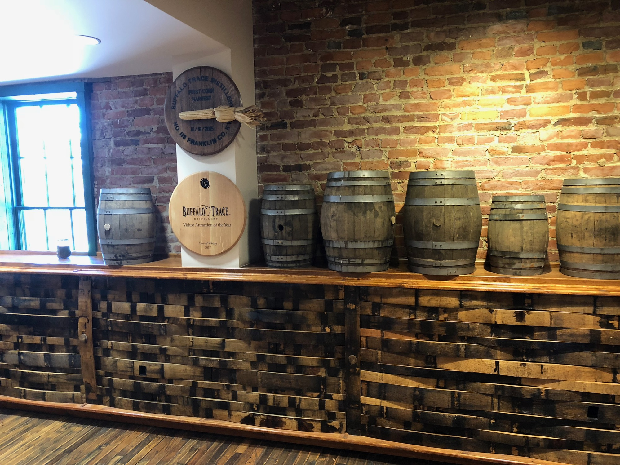 Buffalo trace distillery frankfort ky map the craft for Ky bourbon trail craft tour map