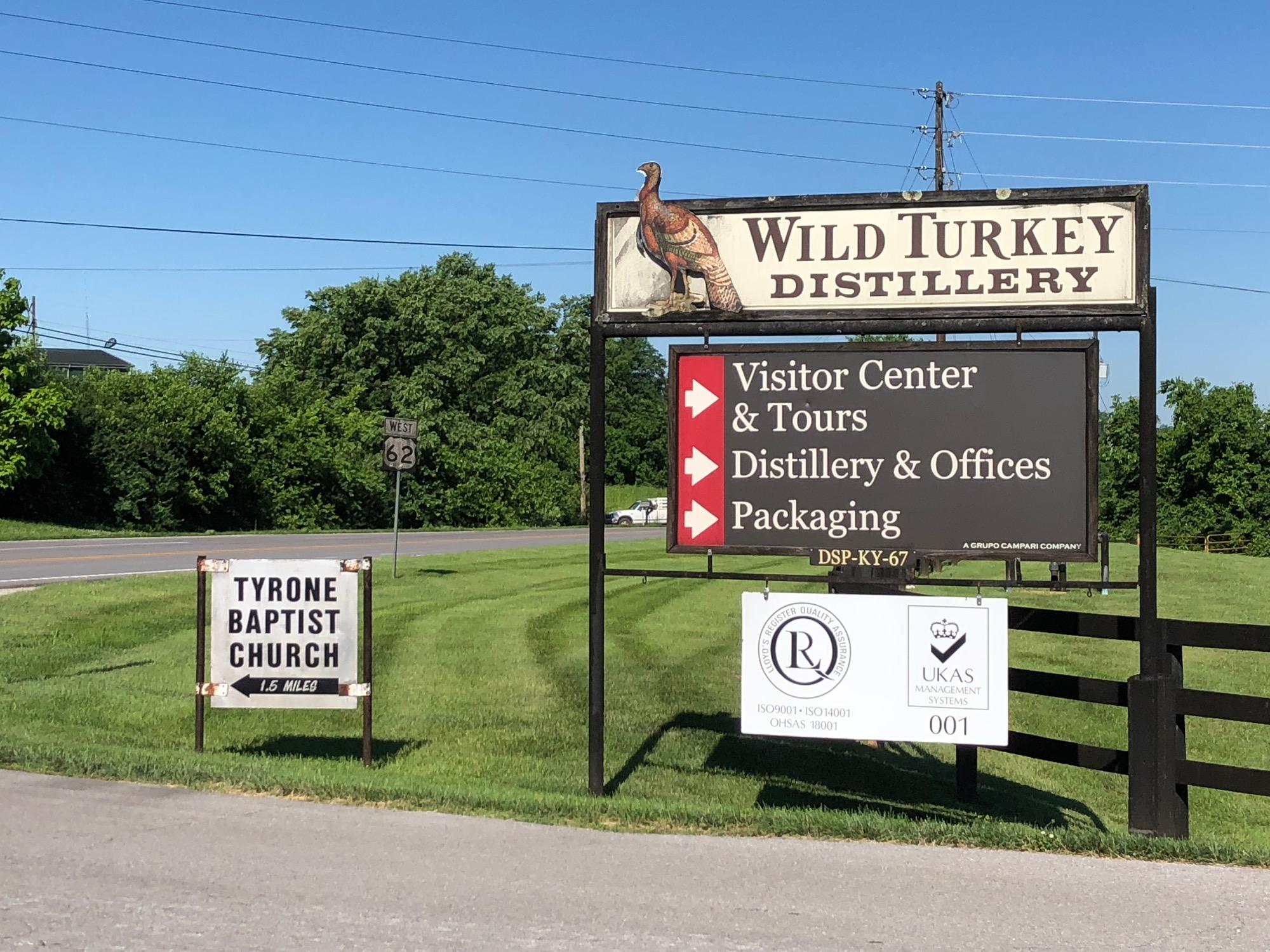 Wild Turkey Distillery Lawrenceburg Ky Craft
